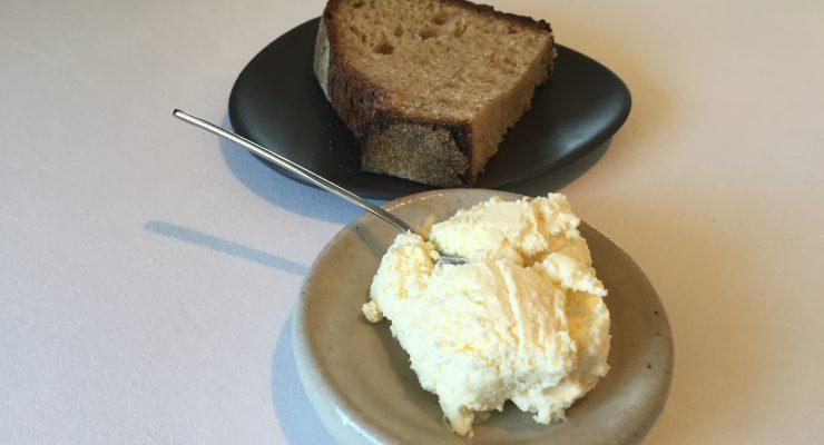 Brae Restaurant Review degustation baked bread and butter