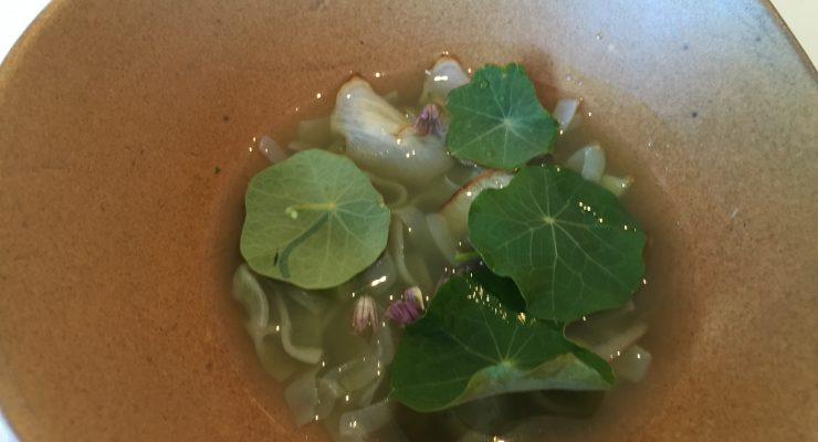 Brae Restaurant Review degustation Calamari abalone blue mackerel