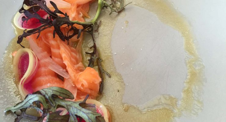 Petuna Ocean Trout Belly Sashimi