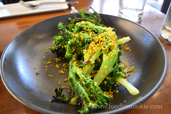 Gerard's Bistro Menu - Coal - g rilled broccolini, kale, shallot oil, lemon, smoked cured egg yolk