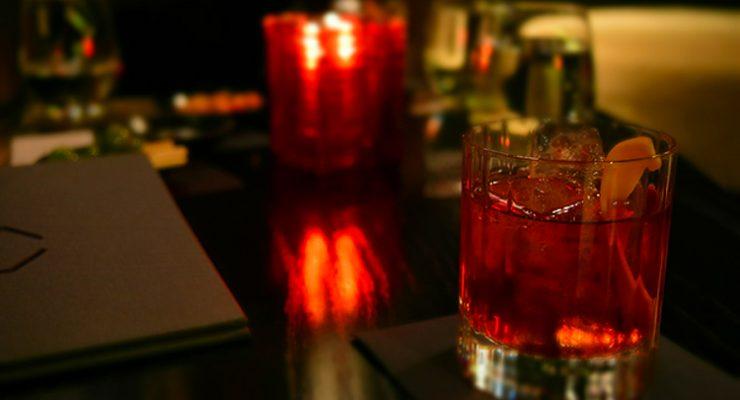 Negroni at Sokyo Lounge