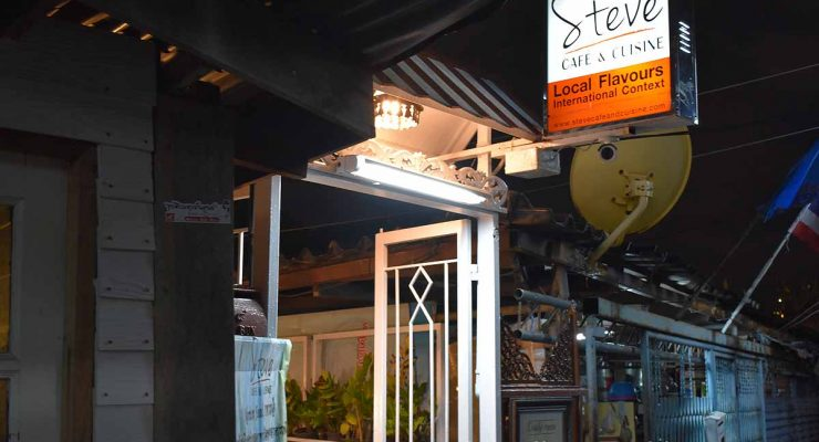 Steve's Cafe & Cuisine Bangkok review